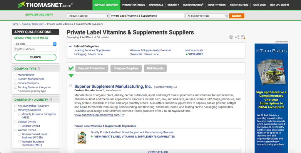 How to Find a Private Label Manufacturer to Source Products